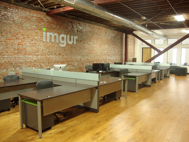 Imgur's office in San Francisco.