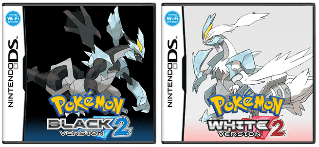 Unofficial American cover art for Pokemon Black 2 and White 2
