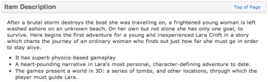 Tomb Raider (Walmart.com)