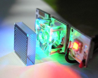 Smartphone mini projector