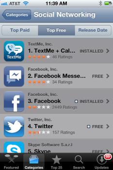 TextMe Facebook