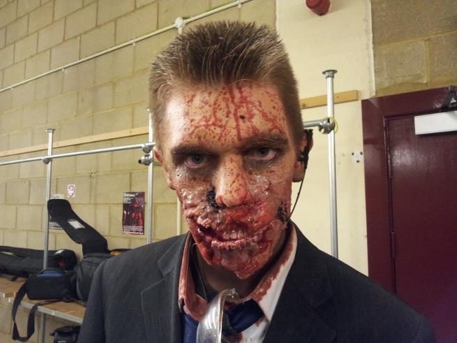 zombie experience portrait