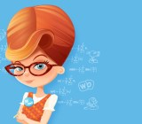 The cartoon mascot for App Annie.