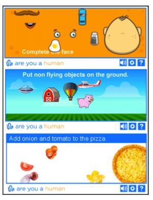 Captcha game