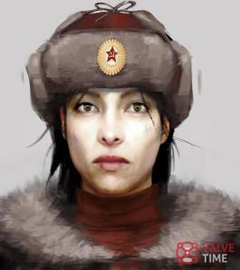 Alyx Vance Half-Life 2: Episode 3 concept art