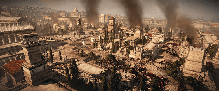 Total War Rome II_Urban warfare