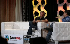 Chris Petrovic at GamesBeat 2012