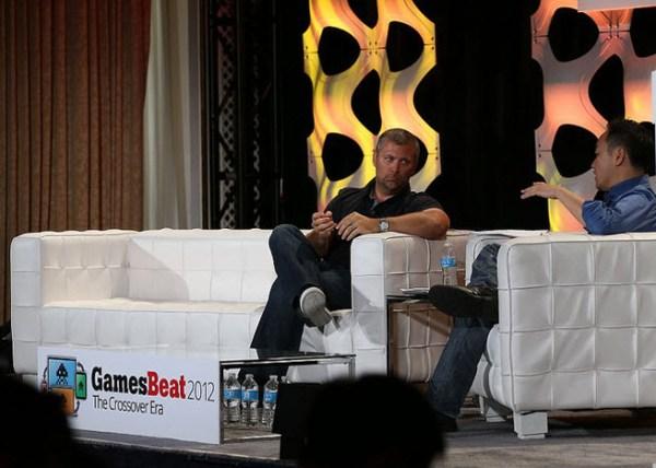 Chris Petrovic at GamesBeat 2012