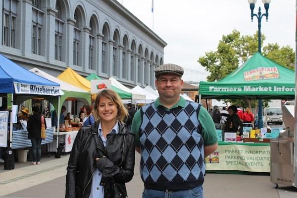 Rebecca Grant and Jason Wilson of VentureBeat
