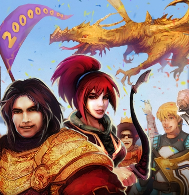 Runescape 200 million accounts small image