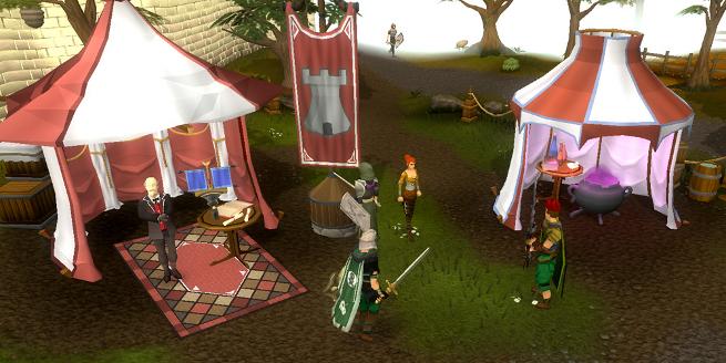 Runescape tents