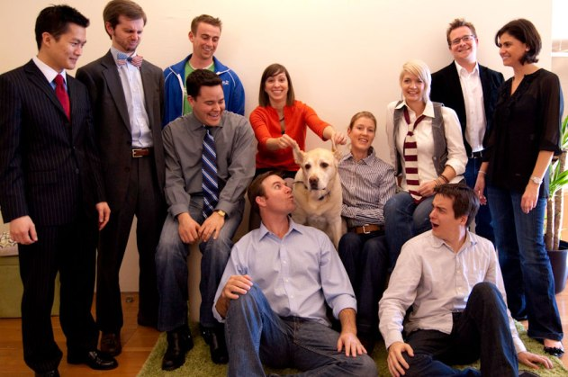 Photo of the TaskRabbit team.