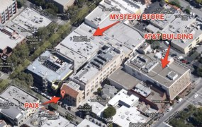 Overhead view of 340 University Ave in Palo Alto