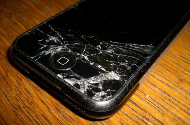 Don't do this, it's not your phones fault.