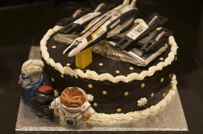 Mass Effect cake
