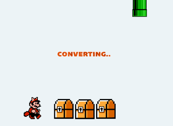 Super Mario Coin Converter