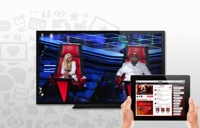 zeebox The Voice