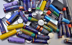 Lithium batteries. Lots of 'em.