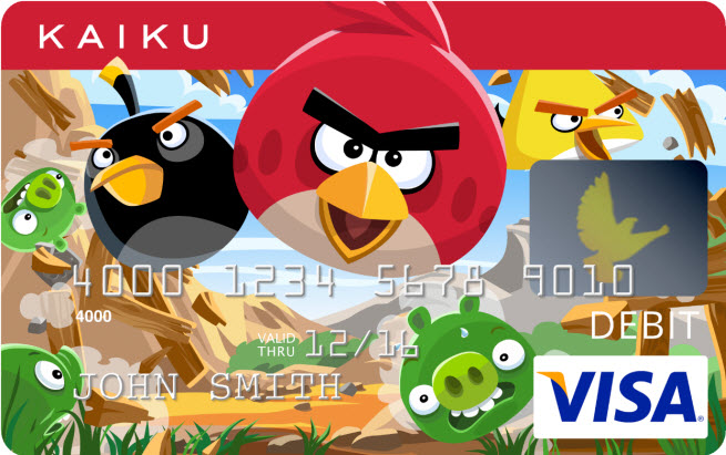 Angry Birds Visa