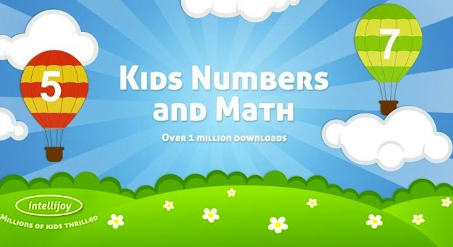 Intellijoy's Kids Numbers and Math