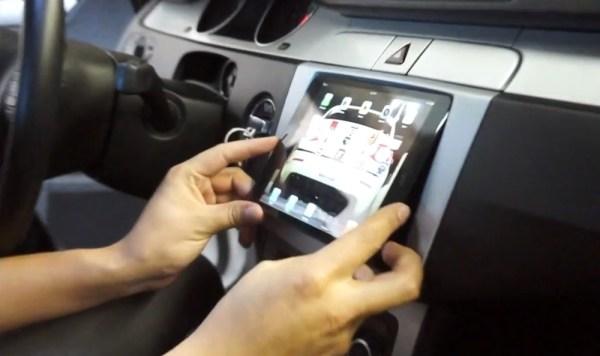 iPad mini car dashboard
