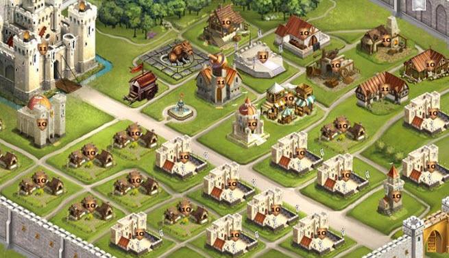 One of Kabam's kingdom-building games.