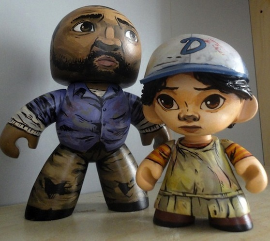 SciurusCustoms: Lee and Clem, TWD