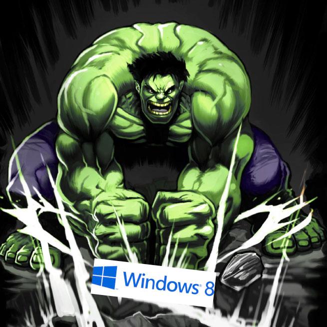 Windows 8 bashing