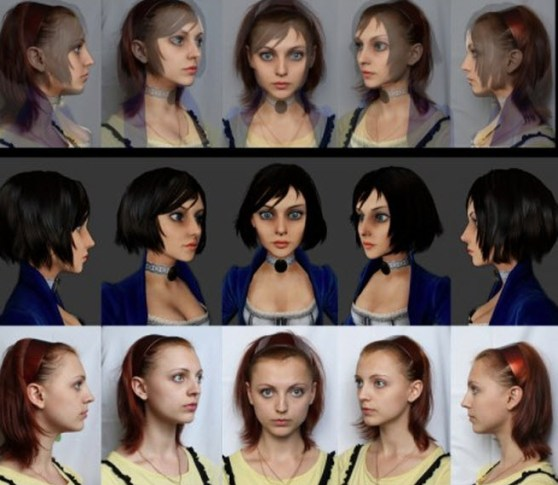 Elizabeth and Anna Moleva comparison