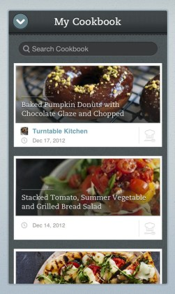 evernote my cookbook