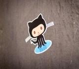 GitHub's famous mascot, Octocat.