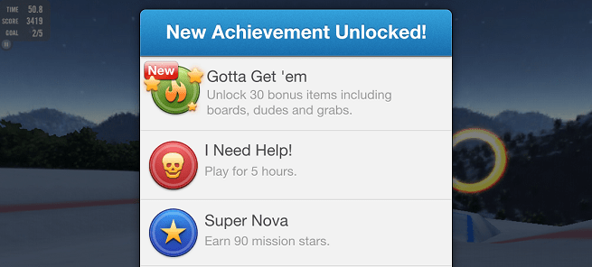 heyzap achievements