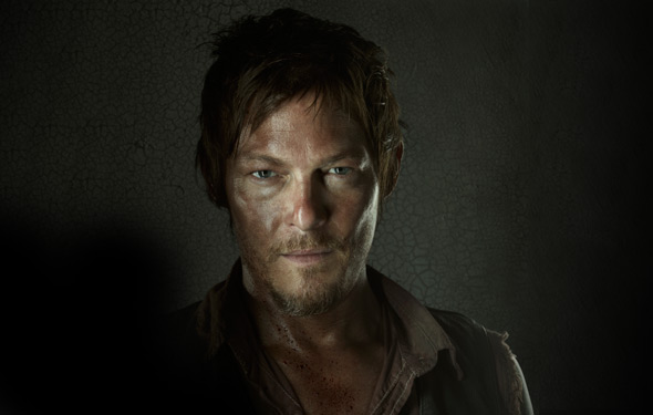 Norman Reedus as Daryl in The Walking Dead TV show