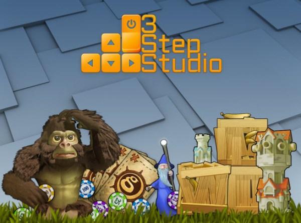 3 Step Studio art