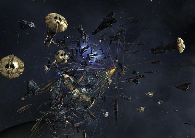 Eve Online Asakai battle 1