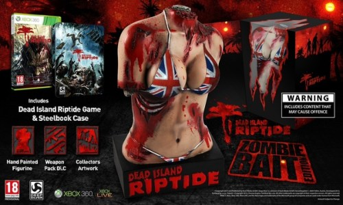 The mutilated torso included in the collector's edition of the yet-to-be-released Dead Island Riptide has stirred up more than a bit of controversy.