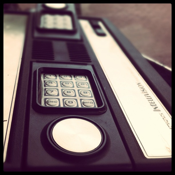 Intellivision Console close up