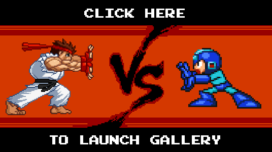 Ryu vs. Mega Man