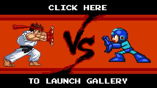 Ryu vs. Mega Man