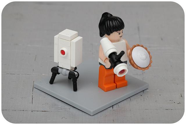 Portal 2 Lego pasukaru76 Flickr