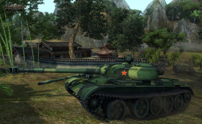 world of tanks china