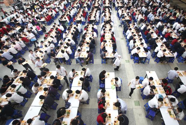Foxconn's Shenzhen factory