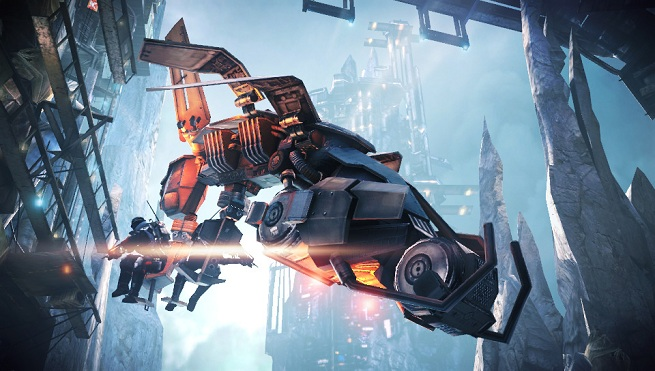 Killzone Mercenary -- dropship
