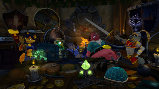 Sly Cooper: Thieves in Time hideout