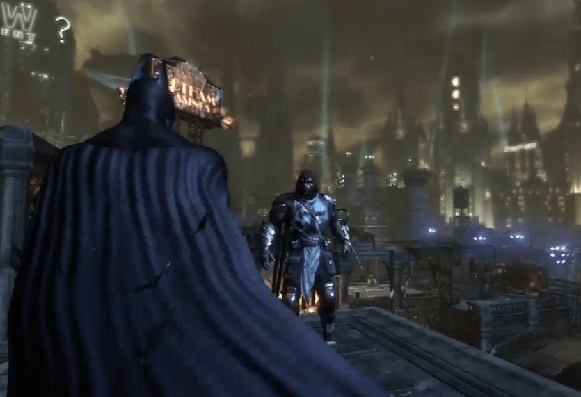 Batman and Azrael