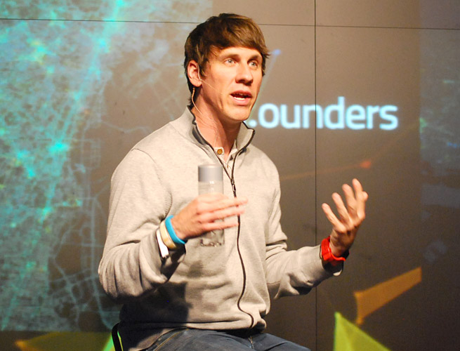 Foursquare CEO Dennis Crowley