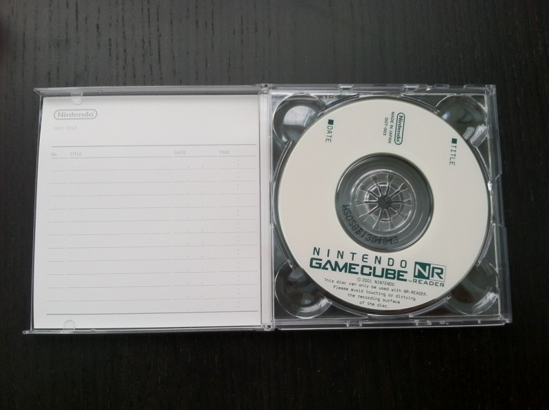 Gamecube NR disc
