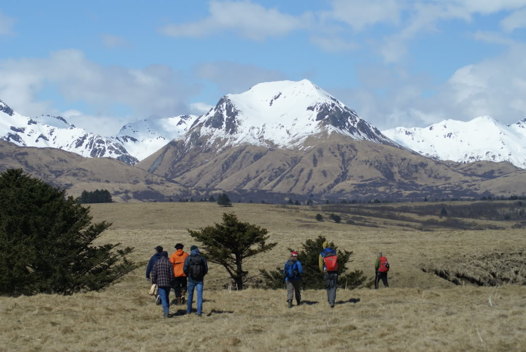 Kodiak Mountains and Hiking