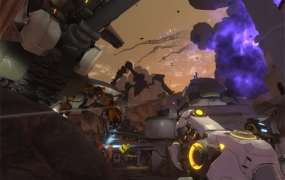 Red 5 Studios' Firefall MMO shooter.
