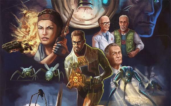 Half-Life 2: Episode 2 poster header